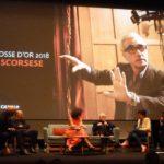50 QUINZAINE DES REALISATEURS-CARROSSE D'OR 2018/ Intervista a Martin Scorsese, Parte prima